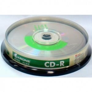 【芥菜籽文具】//KAONE 立光科技//KRONE 光碟片CD-R 52X (10片)