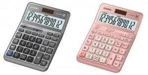 【芥菜籽文具】//CASIO 卡西歐// 12位數桌上型商用計算機DF-120FM(銀灰/櫻花粉)