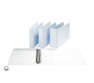【芥菜籽文具】//同春牌// P.V.C封面三面包透明D型孔夾系列(無耳) F200D 12個/箱