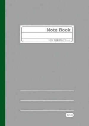 【芥菜籽文具】//博崴紙品// FA2030 N-C 18K方格筆記 (5mm) 5本/pc
