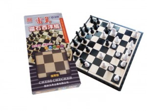 【芥菜籽文具】旻新文具 // 雷鳥文具系列 //   雷鳥磁石西洋棋 LT-319 // 4717378030398
