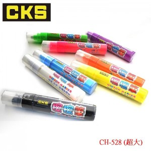 【芥菜籽文具】//CKS 喜克斯//超大方頭 擦擦筆 螢光彩繪筆  CH-528 (共8色)