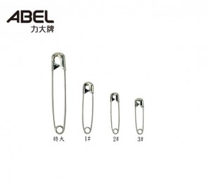 【芥菜籽文具】//ABEL力大牌//袋入特大別針 銀色別針(50mm)#02204(約120支/包)