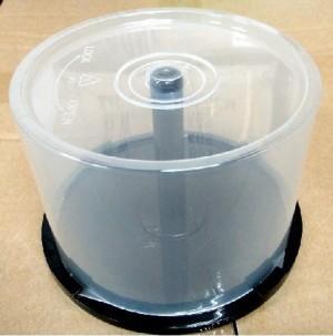 【芥菜籽文具】光碟、CD、DVD、藍光、整理桶、布丁桶、空桶 (50入)