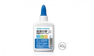【芥菜籽文具】//雄獅//雄獅多用途白膠GU-401(40g) 24瓶/盒