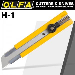 【芥菜籽文具】//OLFA// 特大型美工刀H-1型