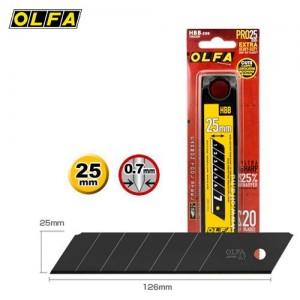 【芥菜籽文具】//OLFA// 超銳特大型美工刀片HBB-20B型(20片/筒)