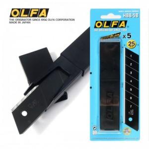 【芥菜籽文具】//OLFA// 超銳特大型美工刀片HBB-5B型(5片/筒)