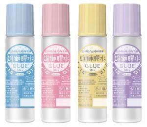 【芥菜籽文具】//雄獅//合成糊、膠水HG-5010(50cc) 24瓶/盒