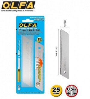 【芥菜籽文具】//OLFA// 特大型踞刀刀片HSWB-1型(1片/卡)