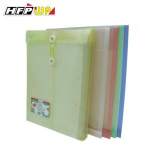 【芥菜籽文具】//HFP WP超聯捷// GF118 直式透明文件袋/資料袋/繞繩公文袋 (10個/包)