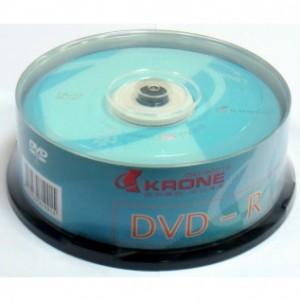 【芥菜籽文具】//KAONE 立光科技//KRONE 光碟片DVD-R 16X (25片)