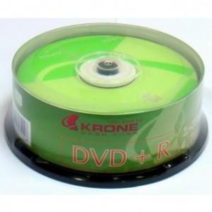 【芥菜籽文具】//KAONE 立光科技//KRONE 光碟片DVD+R 16X (25片)