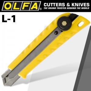 【芥菜籽文具】//OLFA// 大型美工刀L-1型