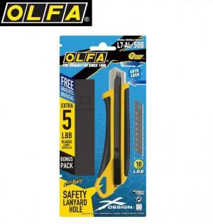 【芥菜籽文具】//OLFA// 大型X系列美工刀L7-AL/5BB超值包