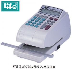 【芥菜籽文具】//LIFE徠福//電子支票機LC-700 數字 (附計算功能)