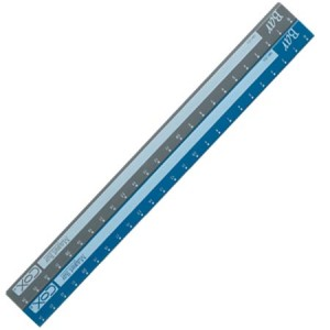 【芥菜籽文具】//三燕 COX//25CM卡裝彩色磁尺  MR-250C 收縮膜包裝