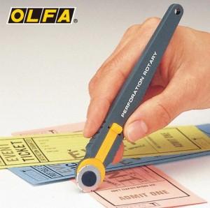 【芥菜籽文具】//OLFA// 輕巧式虛線切割刀PRC-2型