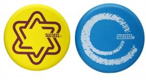 【芥菜籽文具】//成功體育文具 // 球類用品 // 環保安全飛盤(2色) S4716