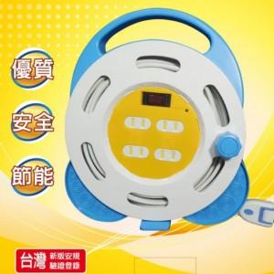【芥菜籽文具】//新安規 安全達人 輪座 延長線 2P 1切4座 // SH4315