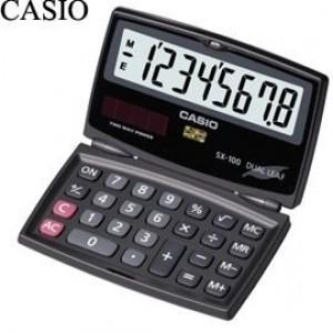 【芥菜籽文具】//CASIO 卡西歐// SX-100 / 國家考試/ 8位數/攜帶型計算機