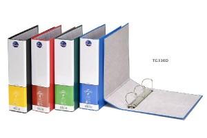 【芥菜籽文具】//同春牌//  環保PP合成紙美式3孔夾  TG310D  D型3孔 (12個/箱)