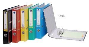 【芥菜籽文具】//同春牌//  環保PP合成紙二孔拱型夾  TG50S(12個/箱)