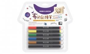 【芥菜籽文具】//雄獅// TM-6雄獅布的彩繪筆-6色(細字)