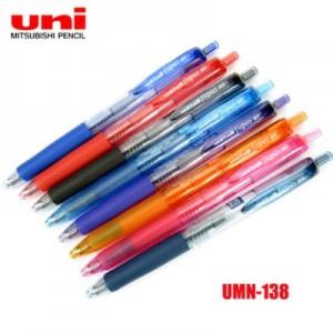 【芥菜籽文具】//三菱文具 UNI-BALL // 超細自動鋼珠筆 UMN-138 (0.38mm)