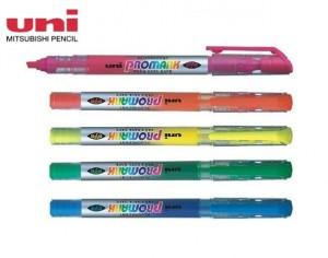 【芥菜籽文具】//三菱文具 UNI-BALL //PROMARK全液式螢光記號筆 螢光筆 USP-105