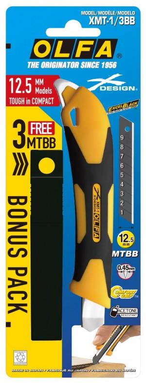 【芥菜籽文具】//OLFA//最新款中型美工刀XMT-1/3BB型