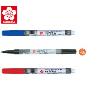 【芥菜籽文具】//SAKURA 櫻花牌//YK細字油性筆 (1.0mm)