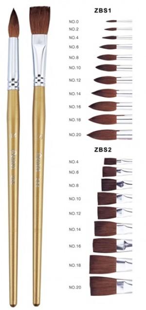 【芥菜籽文具】//Pentel // ZBS2-12 水彩畫筆 水彩筆 平12號