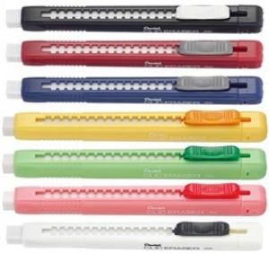 【芥菜籽文具】//Pentel // ZE80 自動塑膠擦、自動橡皮擦 12支/打